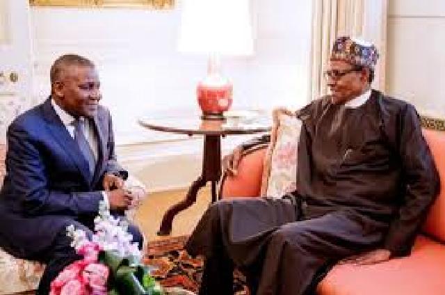 Buhari Celebrates Dangote at 63