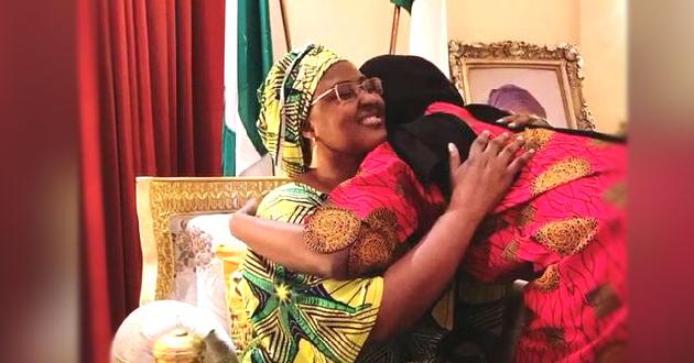 Buhari's Daughter Reunites With Family