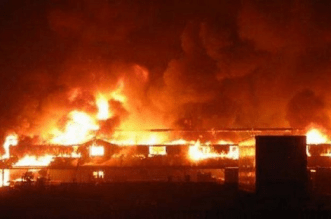 Ebute Ero Market Fire