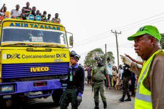 Ganduje Monitors Enforcement of Borders Closure