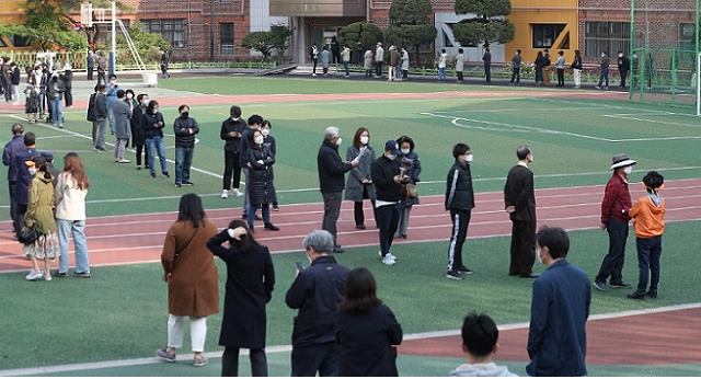 South Korea Holds Elections