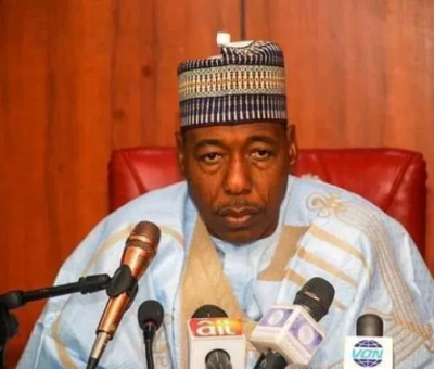 If Borno Is Not Peaceful, Other Parts Of Nigeria Won't Be Peaceful - Zulum