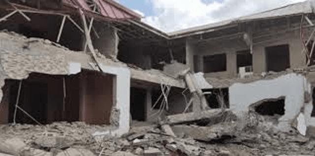 Demolished Nigerian High Commission Building