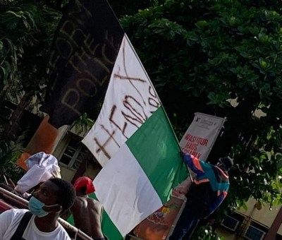 """#EndSARS: """"We Will Deploy Legitimate Means To Stop The Protest"""" - Odumosu"""