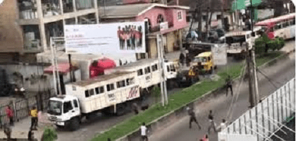 Hoodlums Attack Lagos State RRS at Yaba