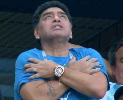 BREAKING: Football Legend Diego Maradona Dies At The Age Of 60