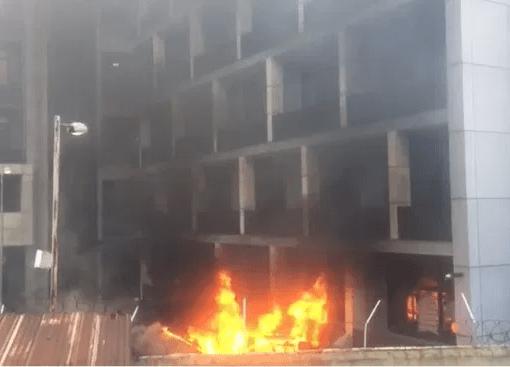 NPA Building Arson