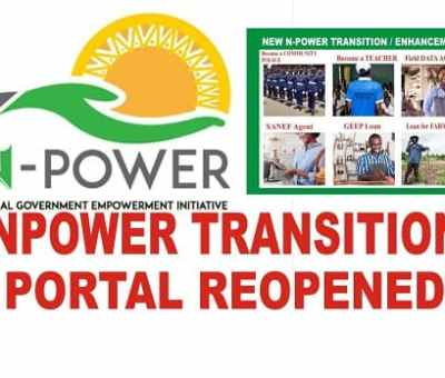 NEXIT Portal For N-Power Beneficiaries