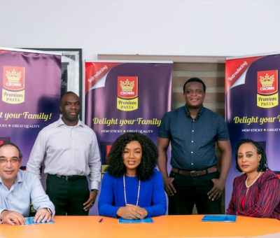 Crown Premium Pasta Signs Nollywood Actress, Chioma Akpotha, As Brand Ambassador