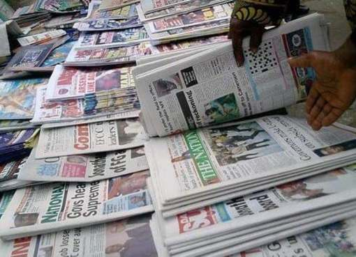 Nigerian Newspapers: Latest Business/ Trending News Round-Up For Today