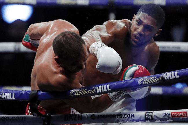 Anthony Joshua Knocks Out Bulgaria's Pulev