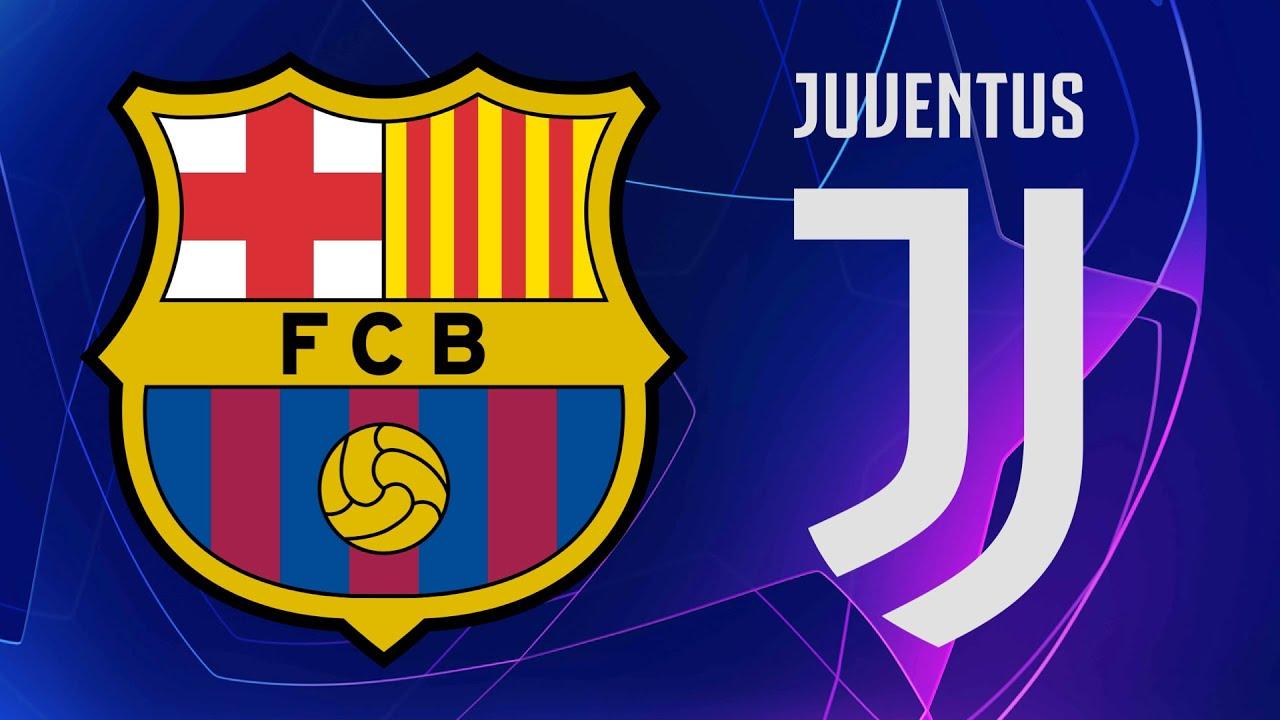 UEFA Champions League Barcelona Vs Juventus Official Line