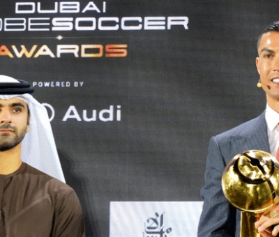 Globe Soccer Player Of The Century