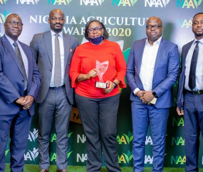 Stanbic IBTC Bank PLC Wins Agric Bank of the Year Award