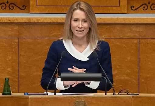 Kaja Kallas Emerges First Female Prime Minister of Estonia