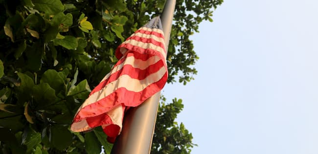 Capitol Riot: US Lowers Flag To Honour Slain Police Officers