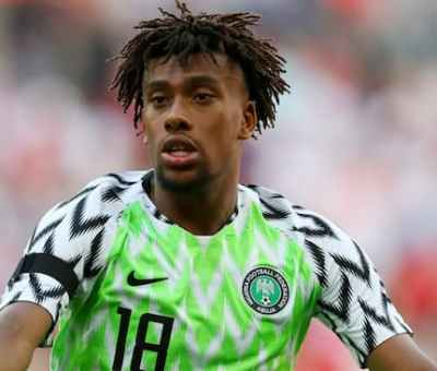 Iwobi To Miss Super Eagles Final 2021 AFCON Match