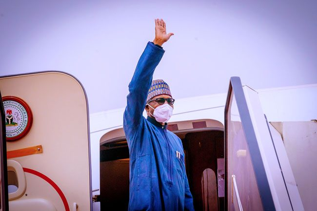 Buhari Leaves For Saudi Arabia To Attend Investment Summit