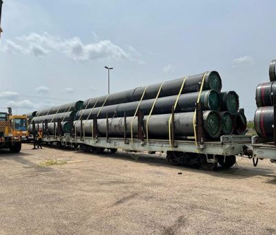 NNPC Begins Movement Of Line Pipes For AKK Gas Project