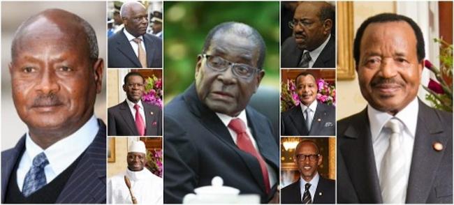 See Africa's 7 Longest-Serving Leaders