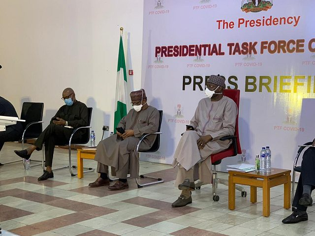 PTF on COVID-19 Becomes Presidential Steering Committee