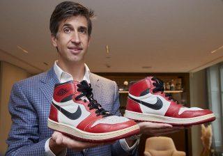 Michael Jordan's Rookie Season Sneakers Sold For $152,500