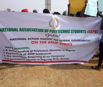 Poly Students Demand Govt Action, As ASUP Remains On Strike