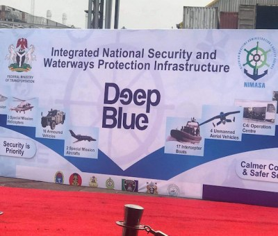 Buhari Flags Off Project Deep Blue In Lagos