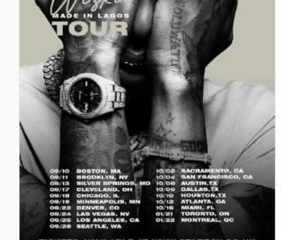 Made In Lagos: Wizkid Announces 17-city International Tour