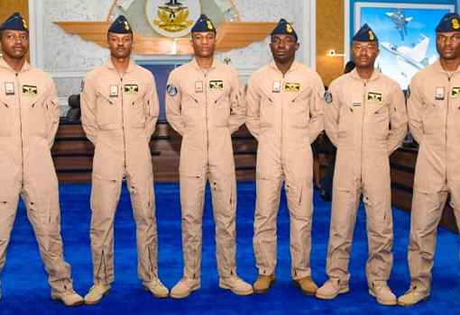 Nigerian Air Force Wings 6 New Helicopter Pilots