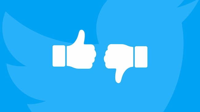 """Twitter Begins To Test '""""Dislike"""" Button On iOS"""