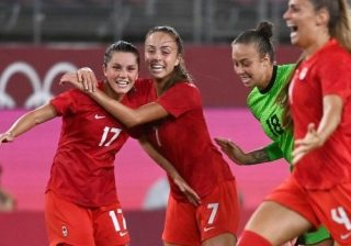 Canada Edges Out USA To Reach Olympic Women's Football Final