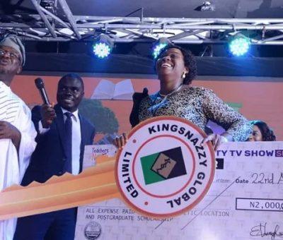 Gloria Odutola Emerges Winner Of The 2021 Teachers Naija Reality Show, Receives N37m Worth Of Prizes