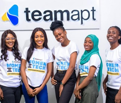 TeamApt Welcomes 5 Female Engineers to its Women in Tech Internship Program