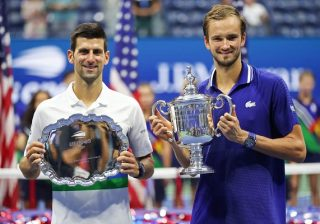 Djokovic Loses To Medvedev In US Open Men's Final