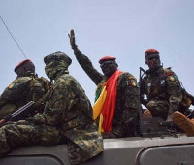 Guinean Coup Leader Tentative On ECOWAS' Push For Democratic Elections