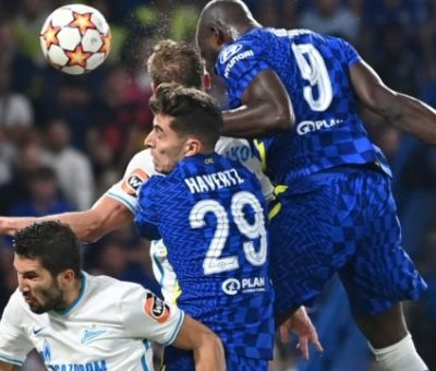 UCL: Lukaku Gives Chelsea Winning Start Over Stubborn Zenit St Petersburg