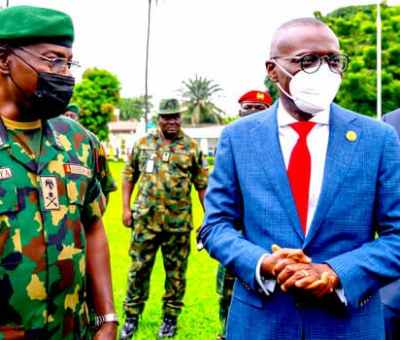 Sanwo-Olu Urges Military To Strengthen Security, Peace In Lagos