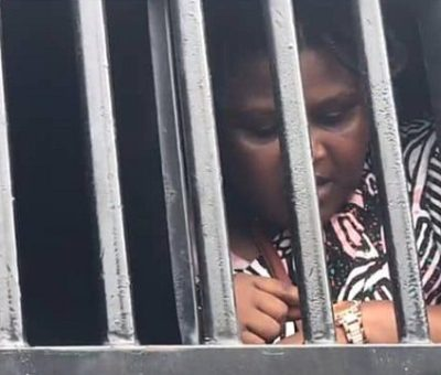 #EndSARSMemorial: 'Woman Claims She Was Arrested For Holding Nigerian Flag