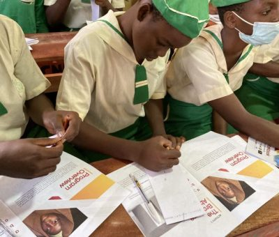 """""""We Believe In The Education Of The Girl Child"""" - Wimbiz"""