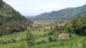 Valley near Ubud, Bali