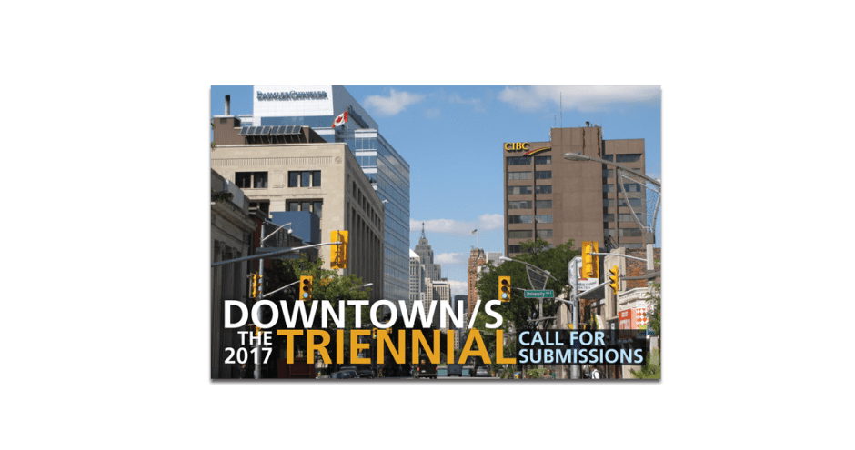 Art Gallery of Windsor 2017 Triennial