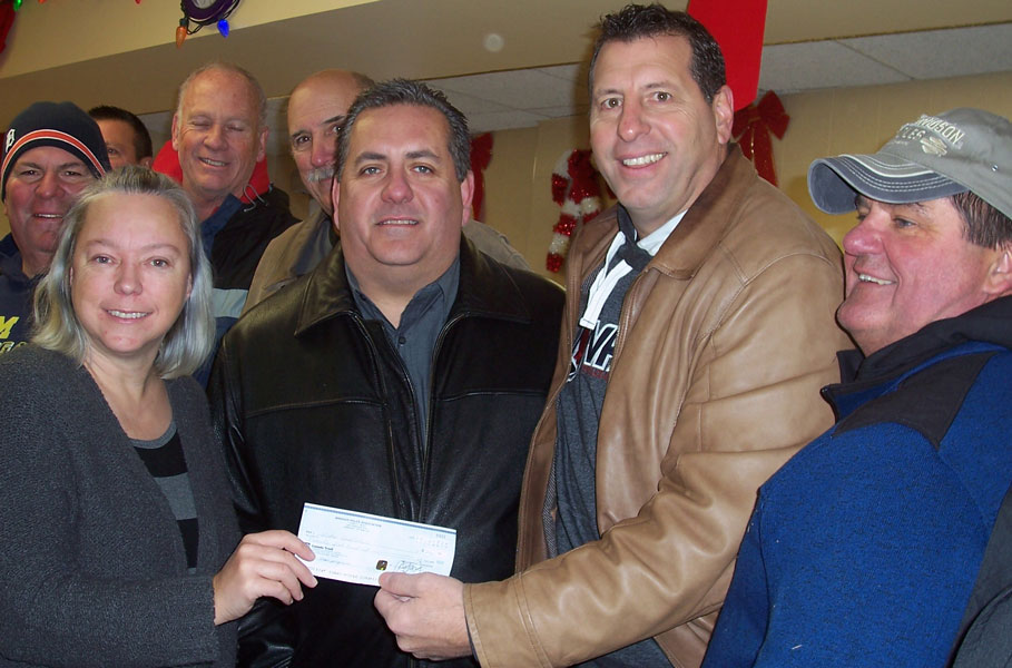 The true spirit of the holiday season was warmly embraced and recognized during a cheque presentation by the Windsor Police Association to the Windsor Goodfellows Club on Wednesday December 14, 2016 at the Goodfellows' headquarters, 401 Park Street, West.