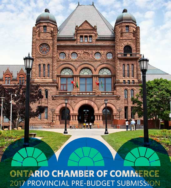 Ontario Chambers of Commerce Pre-Budget Submission