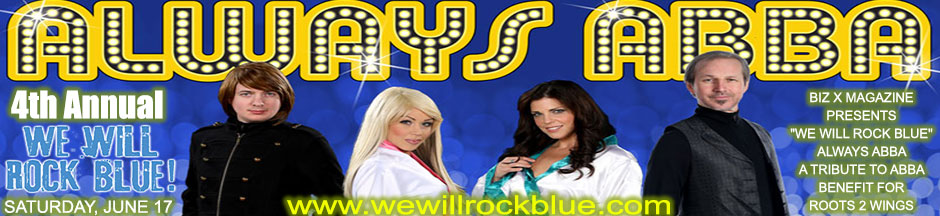 4th Annual We Will Rock Blue featuring Always ABBA