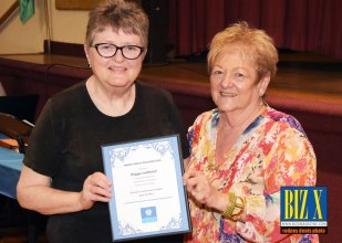 March Drive Award Peggy Leithead
