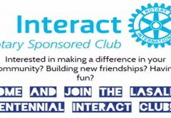 ROTARY CLUB OF LASALLE CENTENNIAL - LOCAL INTERACT CLUB FOR YOUTH