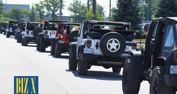 4th Annual Jeep Jam - Jeeps Take Over Essex County For A.L.S.O.