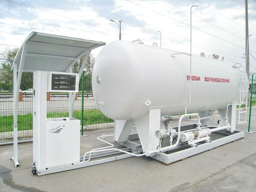 як відкрити газову заправку: модульна установка