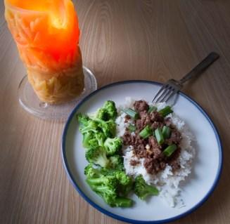 Korean Beef (Day 7)